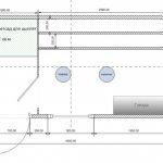 Схема внутреннего устройства курятника