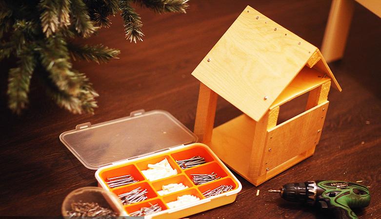 Необходимые инструменты и готовый домик