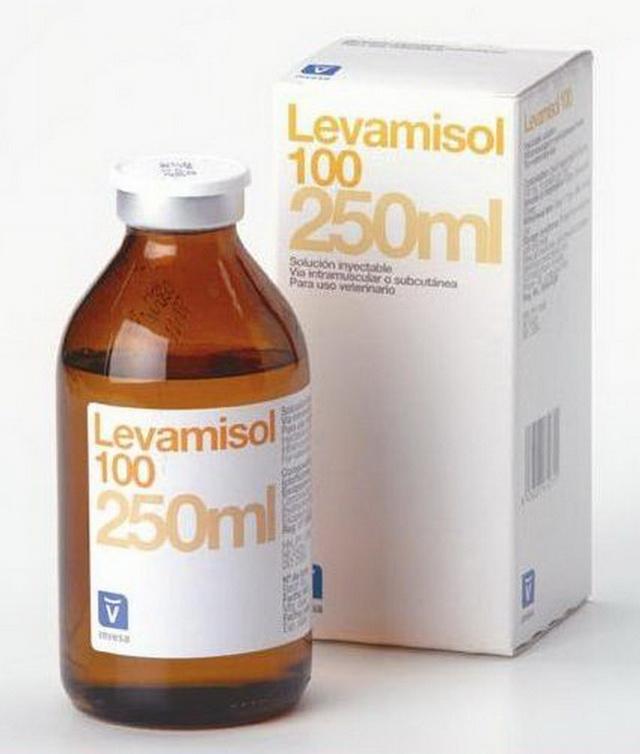 Левамизол в упаковке