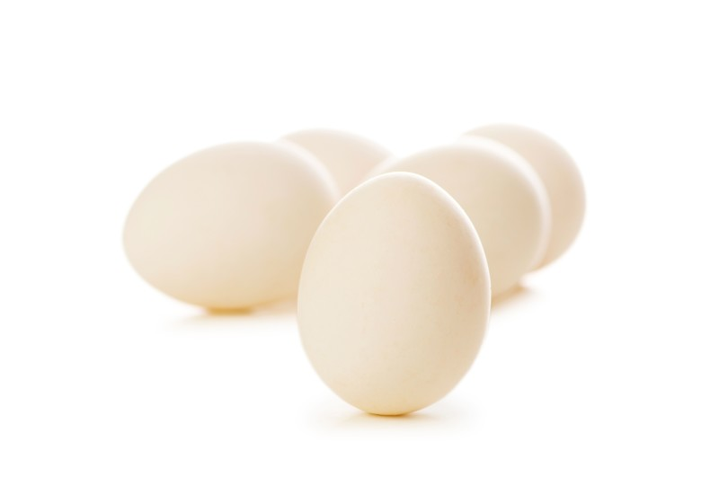Яйца с белой скорлупой