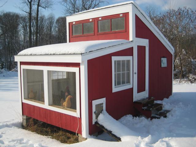 Зимний вариант постройки