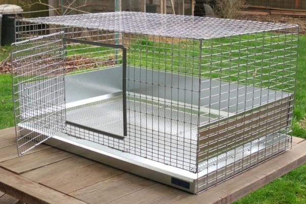 Клетка для цыплят из оцинкованной проволоки