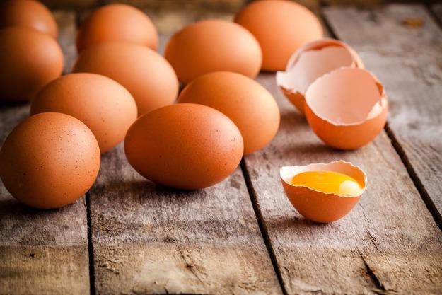 Яйца с коричневой скорлупой