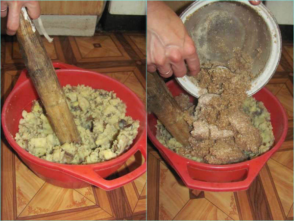 Приготовление кашицы в домашних условиях