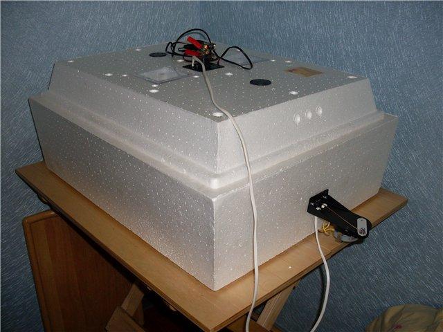 Инкубатор Золушка на столе