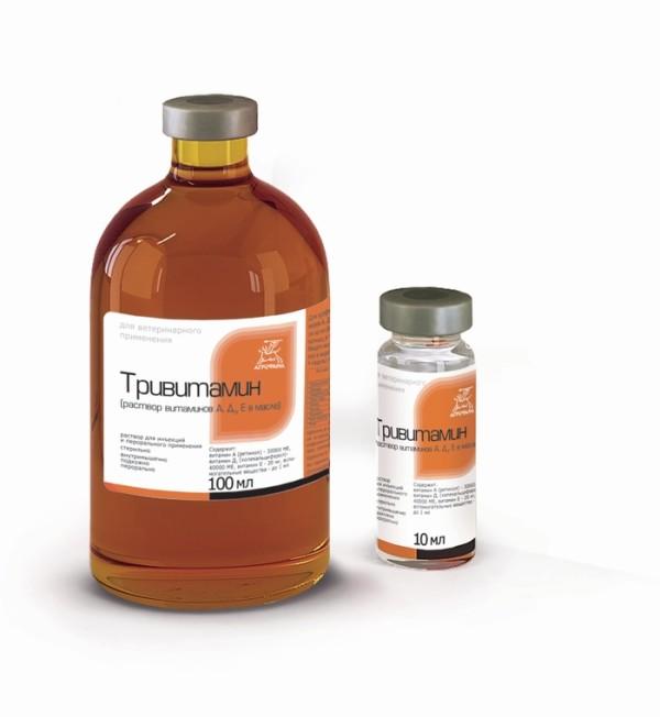 Тривитамин - витаминный комплекс для цыплят