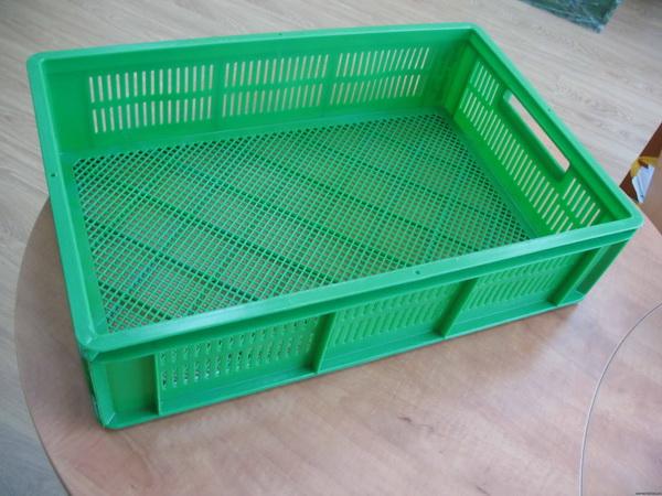 Пластмассовый ящик для молодняка птицы